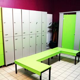 équipements salle de sport