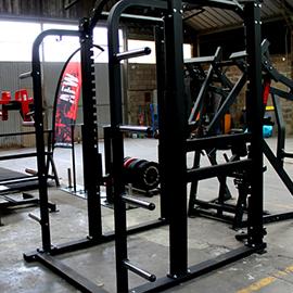 afw cage de puissance rack à squat