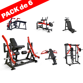 pack 6 machines plate load