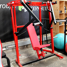 Plate load - Chest incline