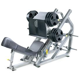 nautilus xpload leg press incline